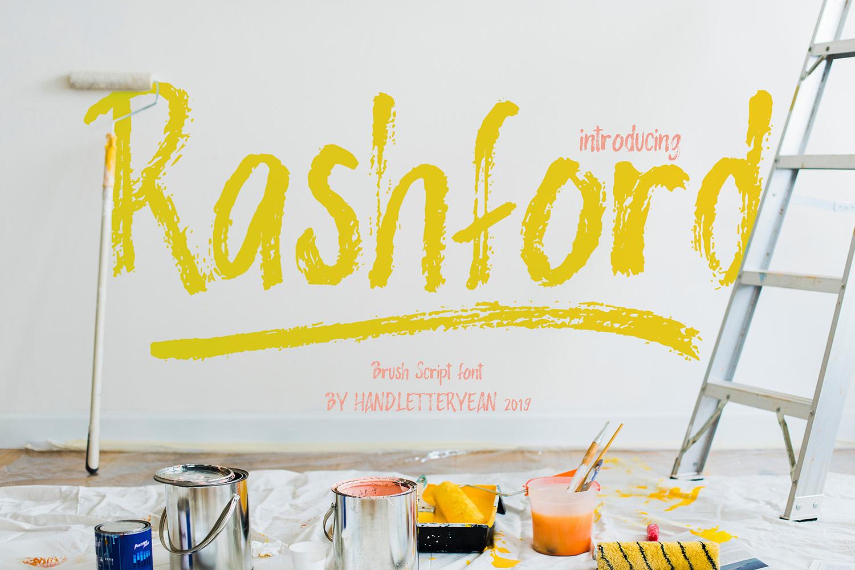 Rashford Free Font