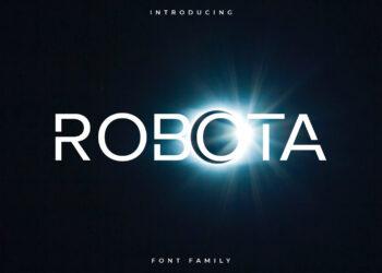 Robota Free Font