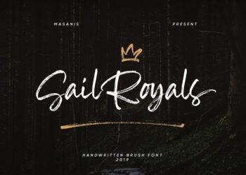 Sail Royals Free Font