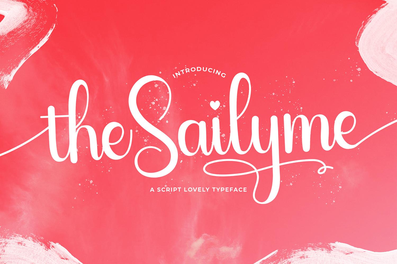Sailyme Free Font