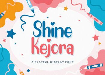 Shine Kejora Free Font