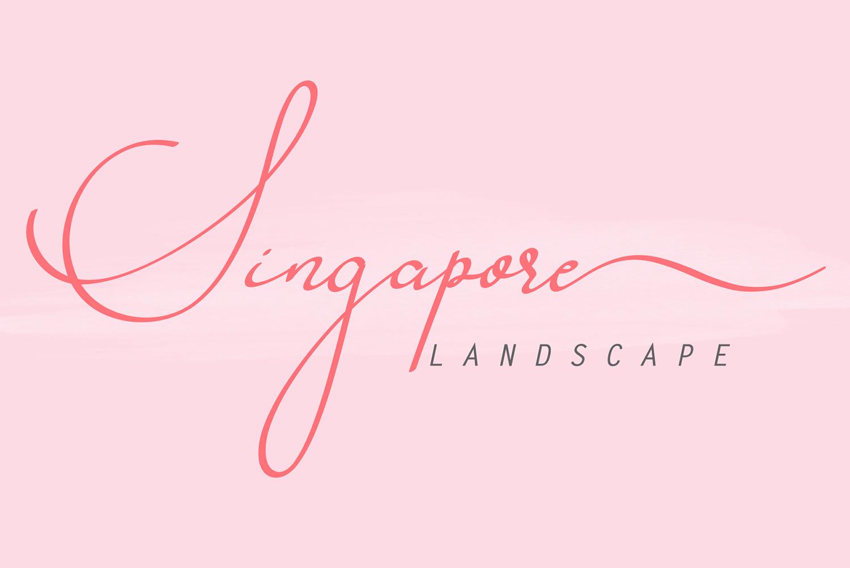 Singapore Landscape Free Font