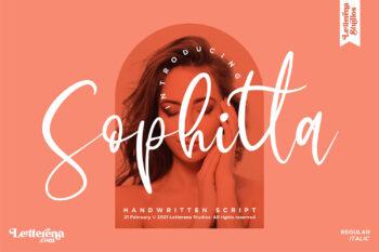 Sophitta Free Font