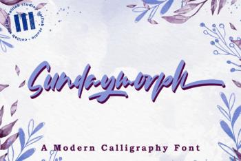 Sundaymorph Free Font