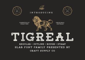 Tigreal Free Font