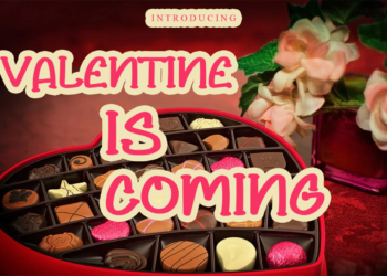 Valentine is Coming Free Font