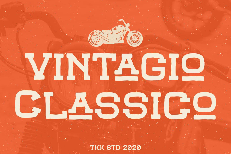 Vintagio Classico Free Font
