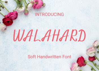 Walahard Free Font