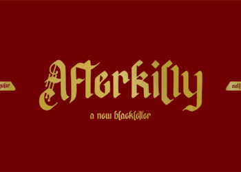 Afterkilly Blackletter Free Font