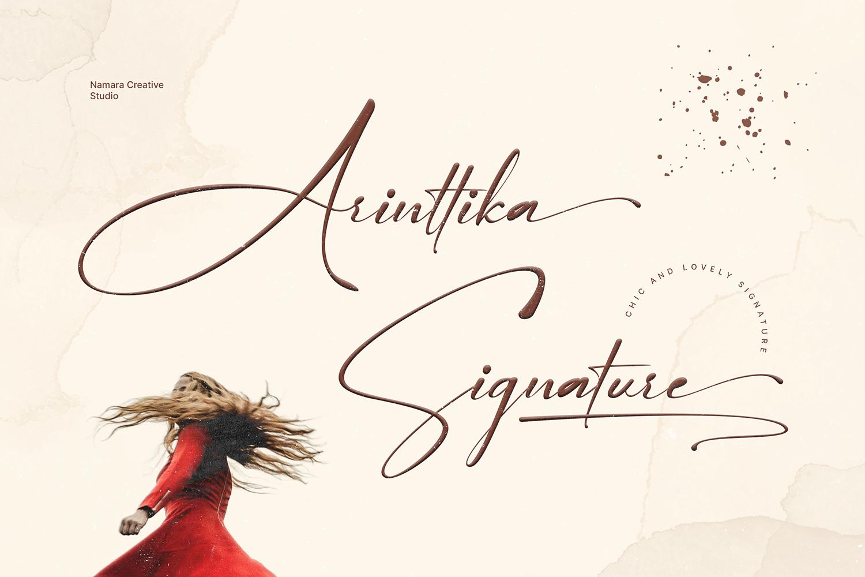 Arinttika Free Font