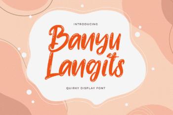Banyu Langits Free Font