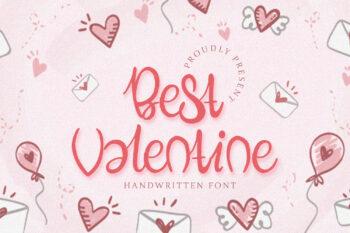 Best Valentine Free Font