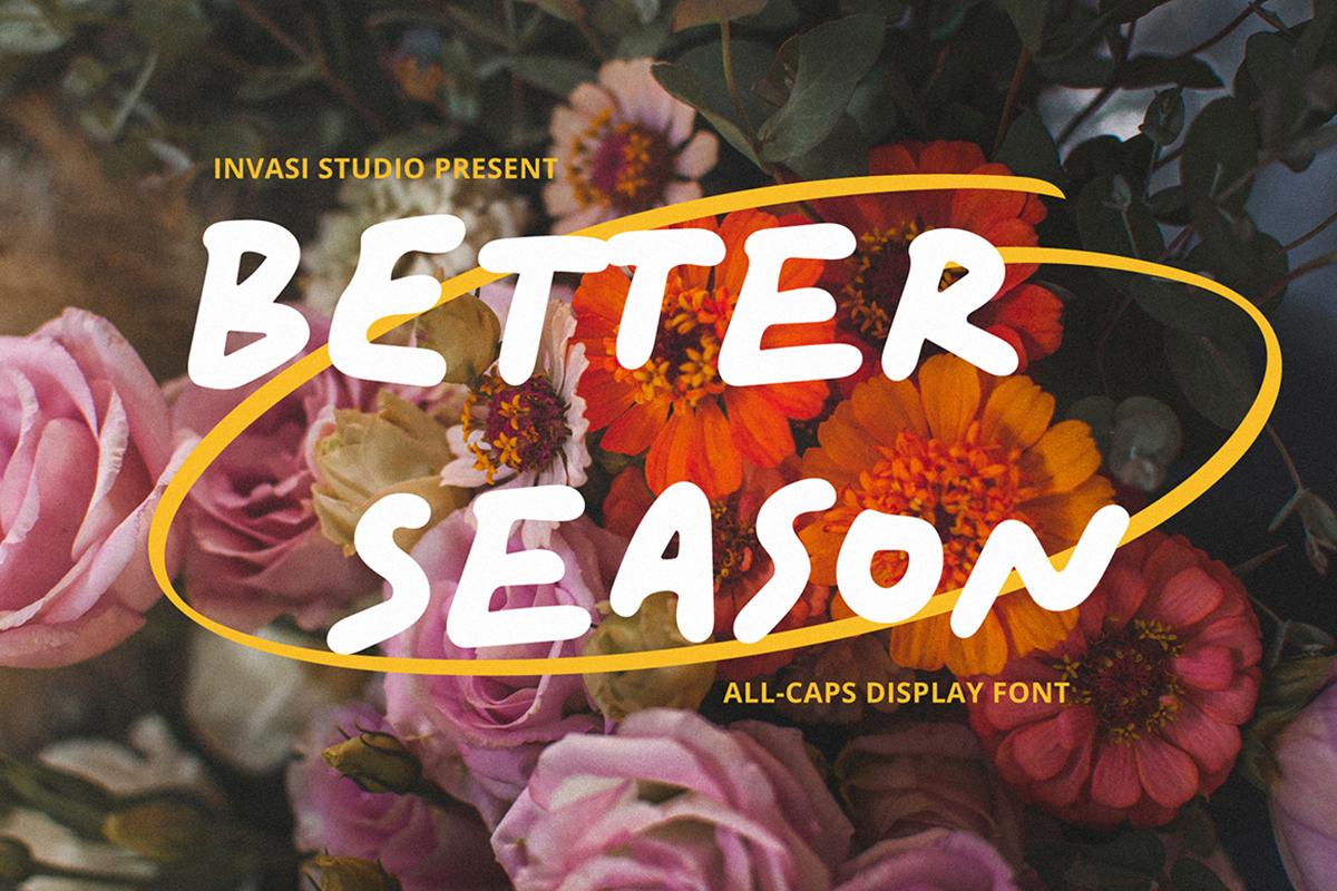 Better Season Free Font