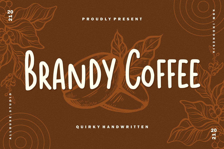Brandy Coffee Free Font
