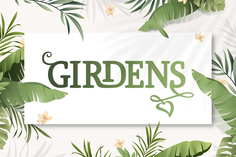 Girdens Free Font