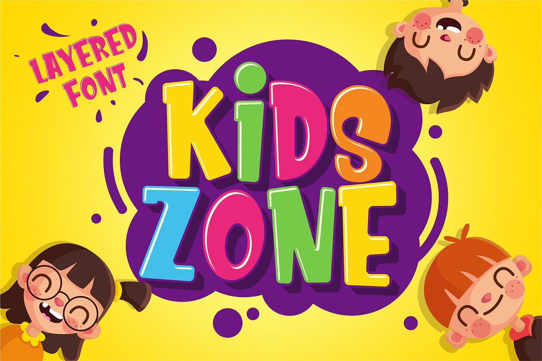 Kids Zone Free Font