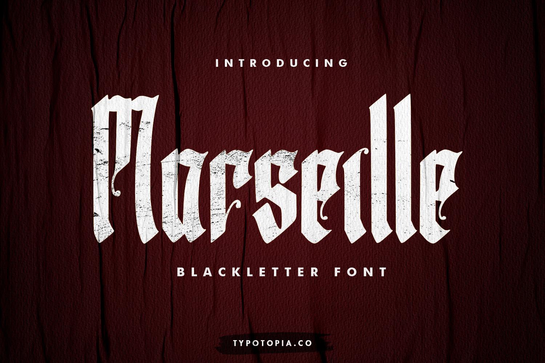 Marseille Free Font