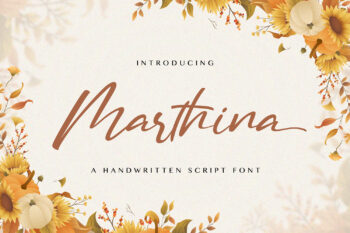 Martina Free Font