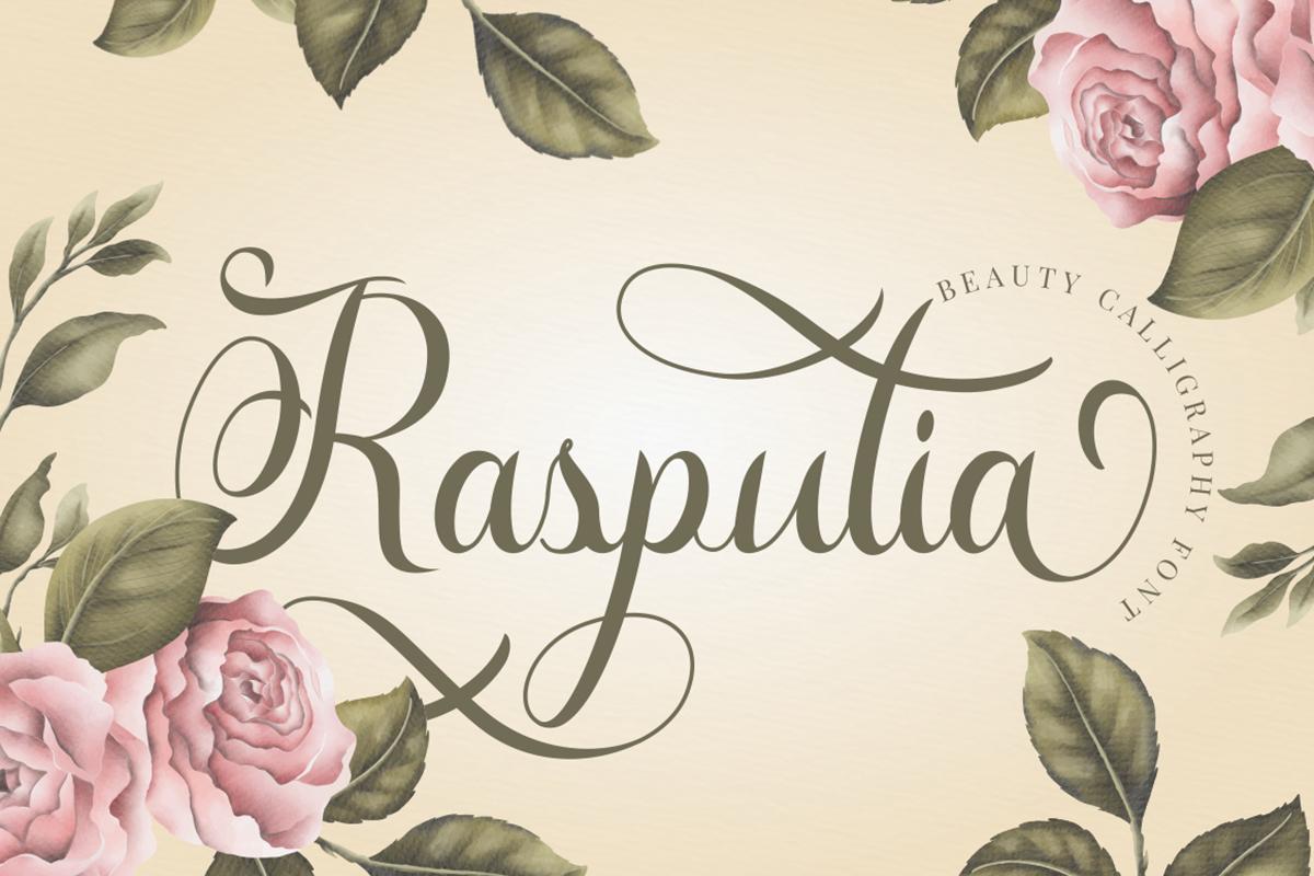 Rasputia Free Font
