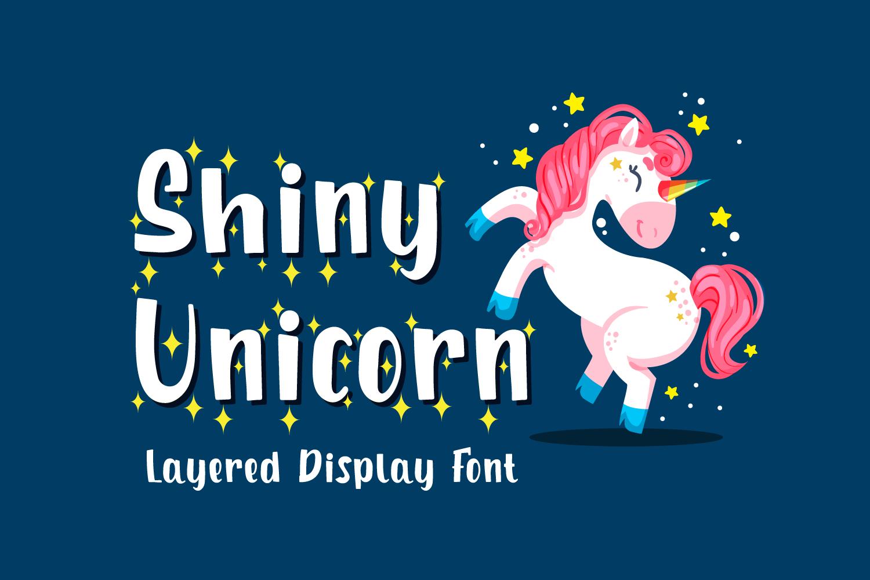 Shiny Unicorn Free Font