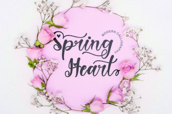 Spring Heart Free Font