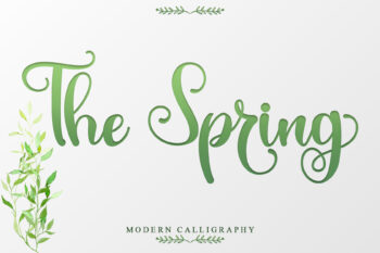 The Spring Free Font