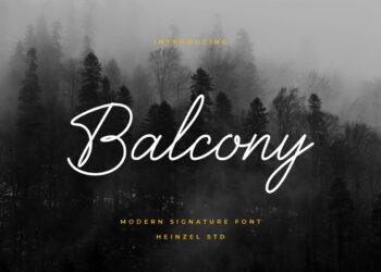 Balcony Free Font