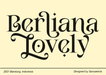 Berliana Lovely Free Font