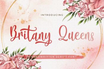 Britany Queens Free Font