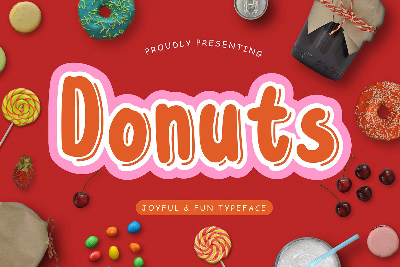 Donuts Free Font