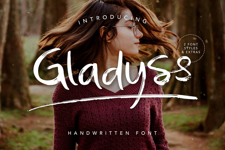 Gladyss Free Font