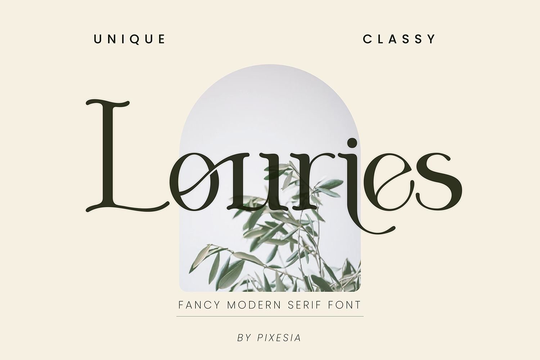 Louries Free Font