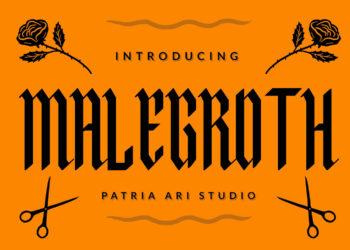 Malegroth Free Font
