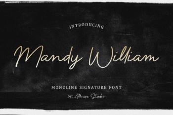 Mandy William Free Font