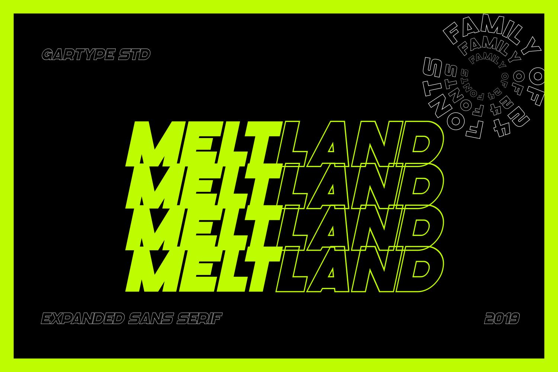 Meltland Free Font