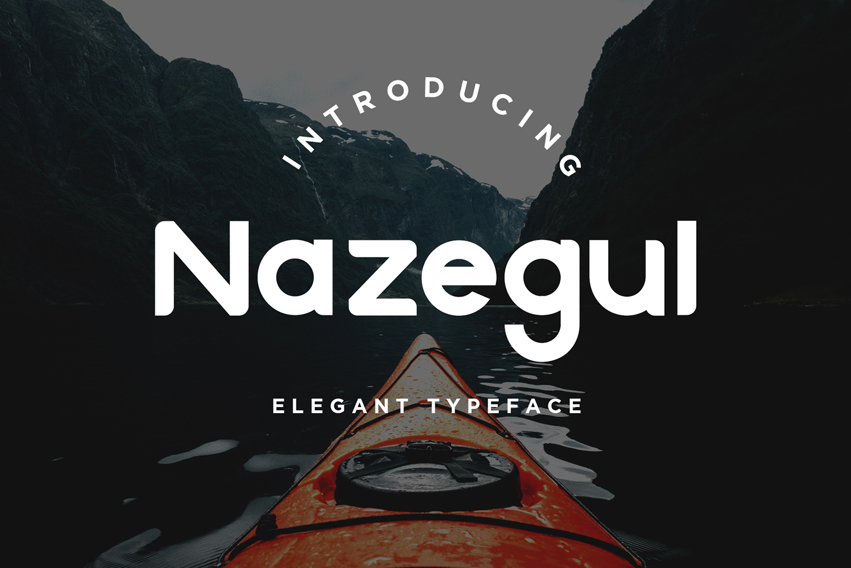 Nazegul Free Font