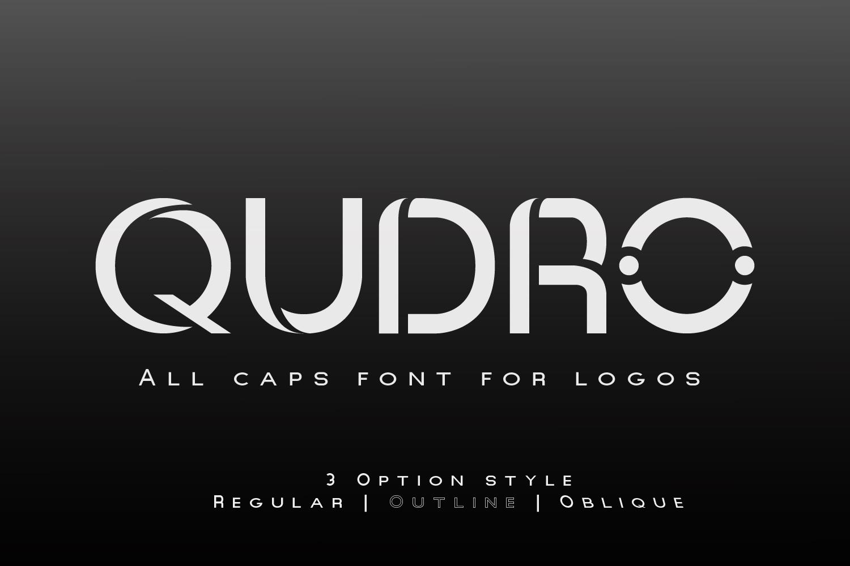Qudro Free Font