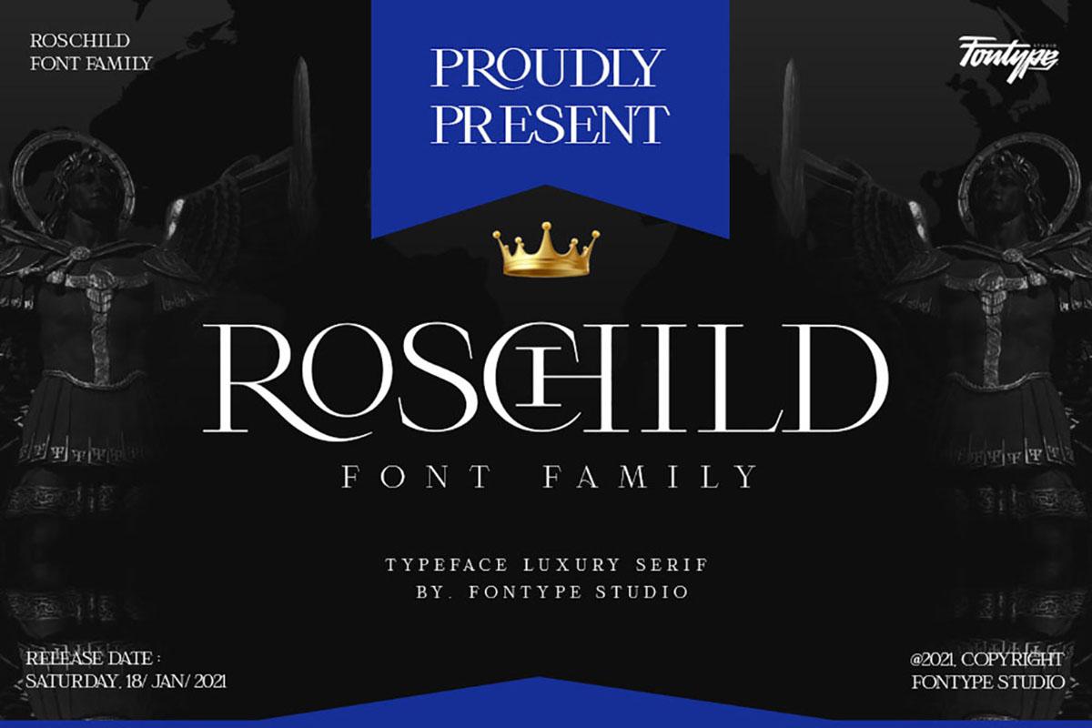 Roschild Free Font