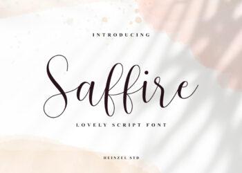 Saffire Free Font