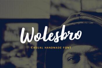 Wolesbro Free Font
