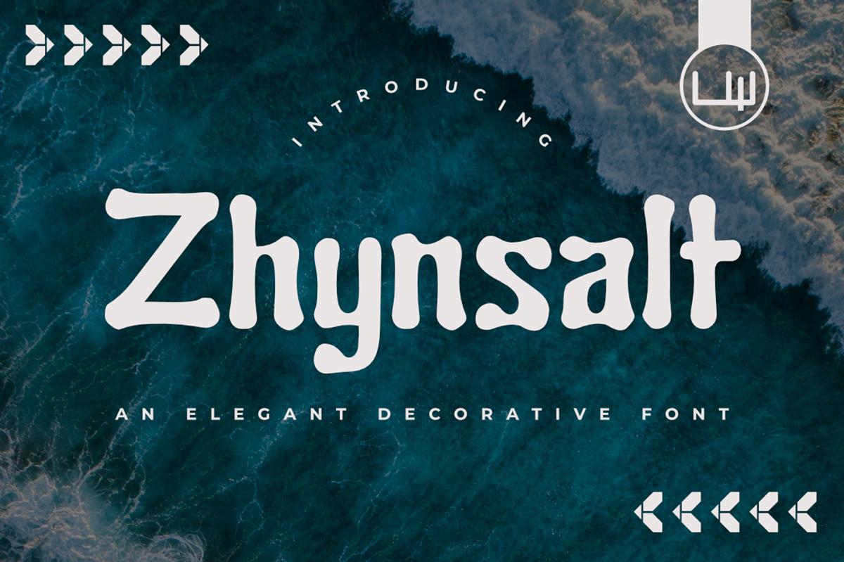 Zhynsalt Free Font