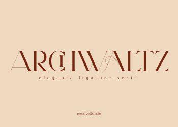 Archwaltz Free Font