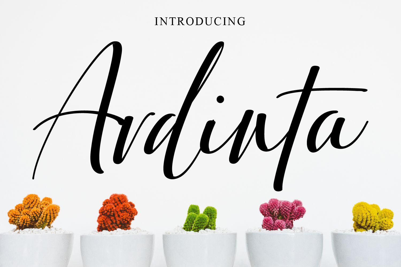 Ardinta Free Font