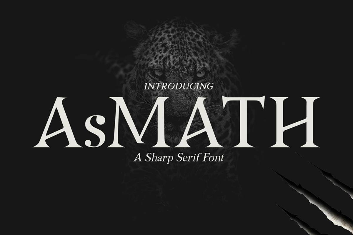 AsMATH Free Font