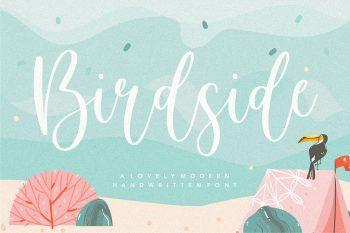 Birdside Free Font
