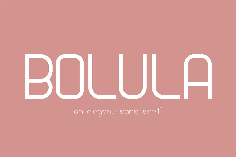 Bolula Free Font