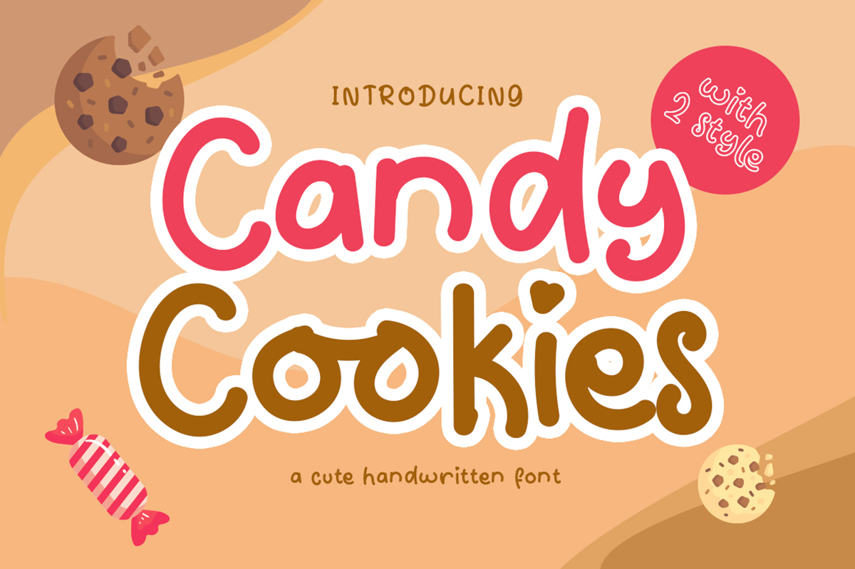 Candy Cookies Free Font