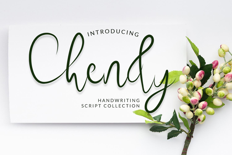 Chendy Free Font