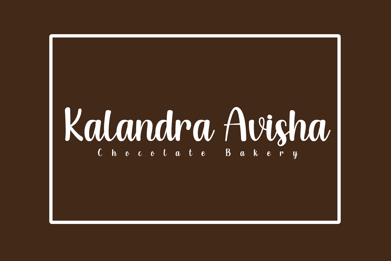 Creamy Chocolate Free Font