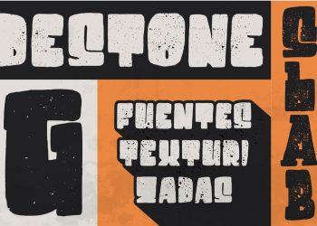Destone Free Font